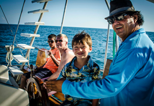 Happy Customers Sunset Sails Tours